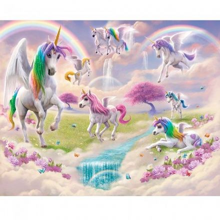 Magical Unicorns wallpaper wall mural